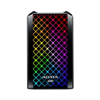 Adata SE900G 512 GB Solid State Drive - External - Black