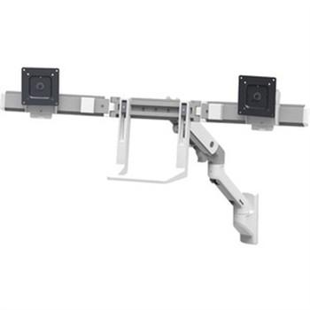 Ergotron Mounting Arm for Monitor, TV - White - 45-479-216