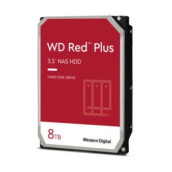 """WD Red Plus WD80EFBX 8 TB Hard Drive - 3.5"""" Internal - SATA (SATA/600)"""