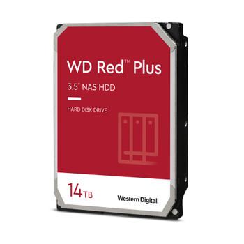 "WD Red Plus WD140EFGX 14 TB Hard Drive - 3.5"" Internal - SATA (SATA/600) - Conventional Magnetic Recording (CMR) Method"