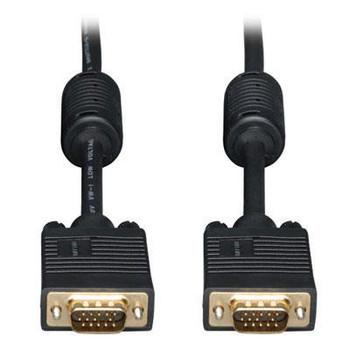 Tripp Lite 15ft SVGA / VGA Coax Monitor Cable with RGB High Resolution HD15 M/M 15'