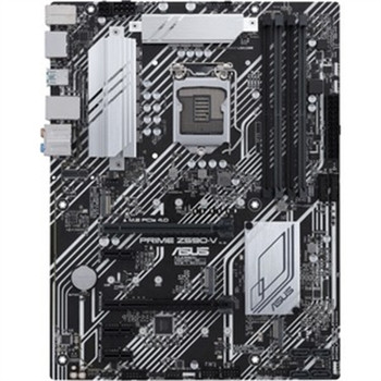 Asus Prime Z590-V Desktop Motherboard - Intel Chipset - Socket LGA-1200 - Intel Optane Memory Ready - ATX