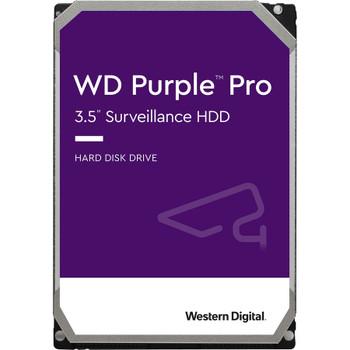 "WD Purple Pro WD101PURP 10 TB Hard Drive - 3.5"" Internal - SATA (SATA/600) - Conventional Magnetic Recording (CMR) Method"