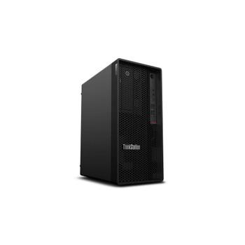 Lenovo ThinkStation P340 30DH00K7US Workstation - 1 x Intel Xeon Hexa-core (6 Core) W-1250P 4.10 GHz - 16 GB DDR4 SDRAM RAM - 512 GB SSD - Tower - Raven Black