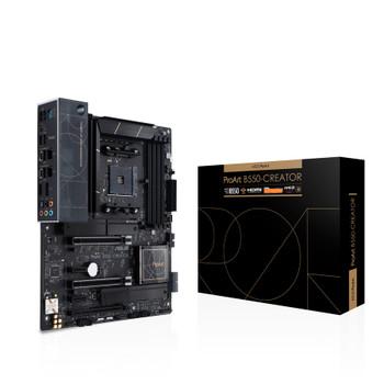 Asus ProArt B550-CREATOR Desktop Motherboard - AMD Chipset - Socket AM4 - ATX