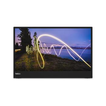 "Lenovo ThinkVision M15 15.6"" Full HD WLED LCD Monitor - 16:9 - Raven Black"