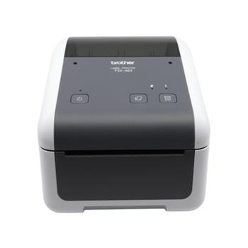Brother TD-4410D Desktop Direct Thermal Printer - Monochrome - Label Print - USB - Serial