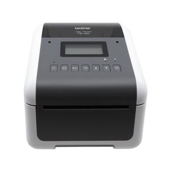 Brother TD-4550DNWB Desktop Direct Thermal Printer - Monochrome - Label Print - Ethernet - USB - Serial - Bluetooth