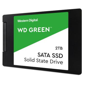 """WD Green WDS200T2G0A 2 TB Solid State Drive - 2.5"""" Internal - SATA (SATA/600)"""