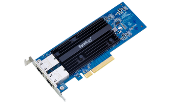 Synology Dual-port, High-speed 10GBASE-T add-in Card for Synology Servers