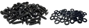 10-32 Rack Screws w/washers 50-Pack