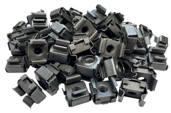 10-32 Snap-in Cage Nuts - 50-Pack