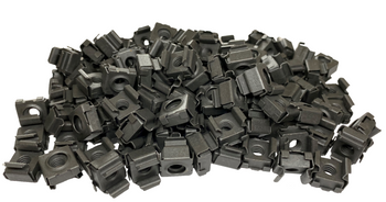 12-24 Snap-In Rack Cage Nuts - 100 Pack