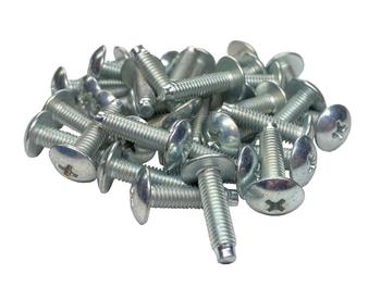 RackGold® 10-32 Rack Screws 25-Pack