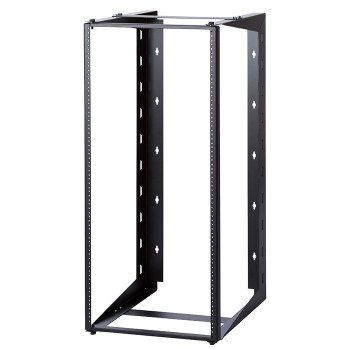 "18U Dual Swing-out Open Frame Wall Mount Rack 18"" USA Made"