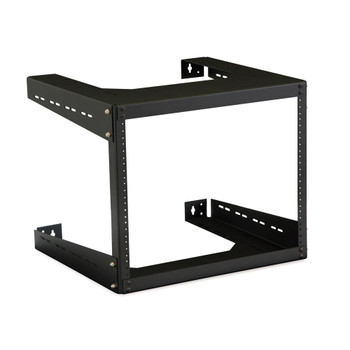 "8U 18"" Deep Open Frame Wall Rack USA Made"