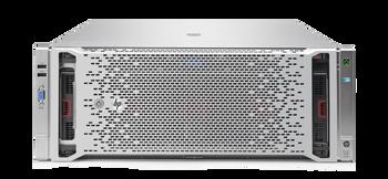 HPE ProLiant DL580 Gen8 Xeon E7-4890 v2 15 Core 2.8 GHz 128GB Server 3yr