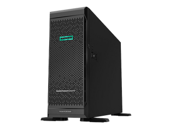 HPE ProLiant ML350 G10 4U Tower Server - 1 x Xeon Bronze 3104 - 8 GB RAM HDD SSD - Serial ATA/600 Controller