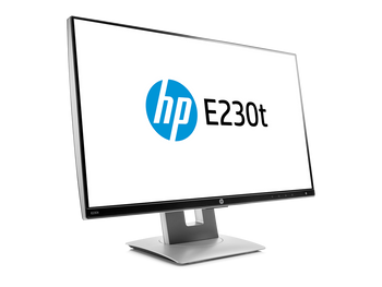 """HP Business E230t 23"""" LCD Touchscreen Monitor - Multi-touch Screen - 1920x1080"""
