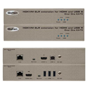 Gefen HDKVM ELR Extender for HDMI and USB over One CAT5