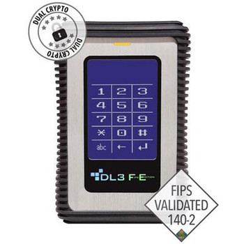 DataLocker DL3 FE (FIPS Edition) 500 GB Encrypted External Hard Drive