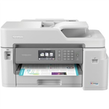 Brother MFC-J5845DW XL Extended Print INKvestment Tank Color Inkjet All-in-One Printer with Wireless, Duplex Printing