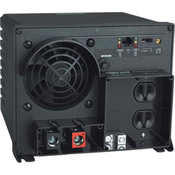 Tripp Lite Industrial Inverter 1250W 12V DC to 120V AC RJ45 2 Outlets 5-15R