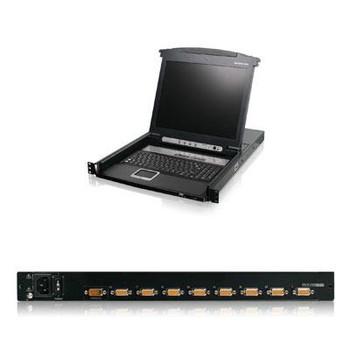 IOGEAR GCL1808 Rackmount LCD