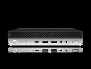 HP EliteDesk 800 G4 Desktop Computer - Core i5-8500T - 8 GB RAM - 1 TB HDD - Desktop Mini