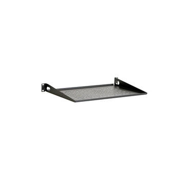 "1U 12"" Vented Light Duty Rack Shelf USA Made"
