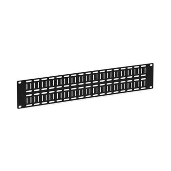 Kendall Howard 2U Flat Cable Lacing Panel