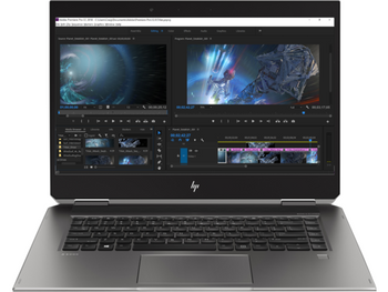 HP ZBook 15 Studio x360 G5 W10P-64 i7 8750H 2.2GHz GHz 256GB NVME 8GB(2x4GB) 15.6UHD WLAN BT BL Cam