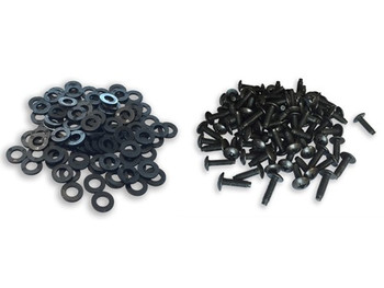 12-24 Rack Screws and Washers - 100