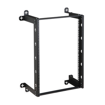 "16U 19"" V-Line Wall Mount Rack 12"" Depth Quality Wall Rack"