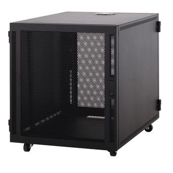 "Kendall Howard 12U Compact SOHO 19"" Server Cabinet Mesh Doors Extra Deep 32.24"""