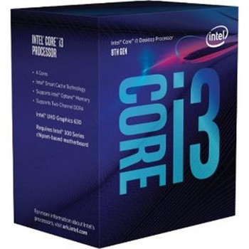 Intel Core i3-8300 Quad-core (4 Core) 3.70 GHz Processor - Socket H4 LGA-1151 - Retail Pack