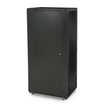 "42U LINIER Server Cabinet - Glass/Vented Doors - 36"" Depth Made in the USA"