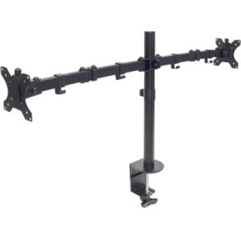 Manhattan Universal Dual Monitor Mount with Double-Link Swing Arms