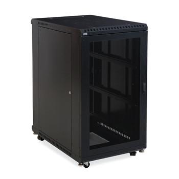 """Kendall Howard 22U LINIER Server Cabinet - Vented Doors - 36"""" Depth"""
