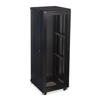 """Kendall Howard 37U LINIER Server Cabinet - Vented Doors - 24"""" Depth"""