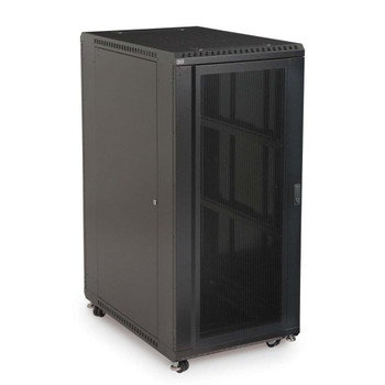 "Kendall Howard 27U LINIER Server Cabinet - Convex & Vented Doors - 36"" Depth"