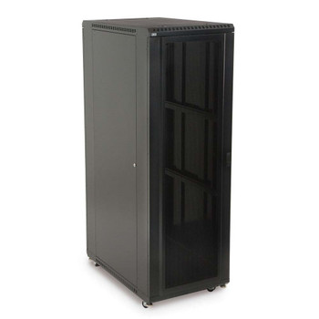 "Kendall Howard 37U LINIER Server Cabinet - Convex & Vented Doors - 36"" Depth"