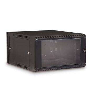 Kendall Howard 6U LINIER Swing-Out Wall Mount Cabinet - Glass Door