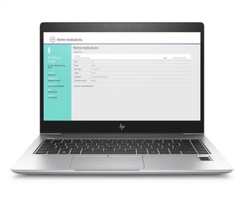 HP EliteBook 840 G5 W10P-64 i7 7600U 2.8GHz 512GB NVME 16GB(1x16GB) 14.0UHD WLAN BT BL FPR NFC Cam