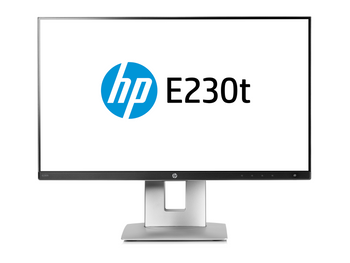 "HP Business E230t 23"" LCD Touchscreen Monitor - 16:9 - 5 ms - Multi-touch Screen - 1920 x 1080"