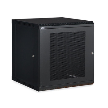12U LINIER® Fixed Wall Mount Cabinet - Vented Door