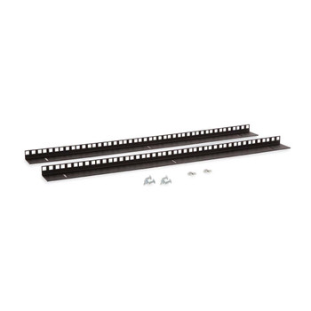 Kendall Howard 15U LINIER Wall Mount Vertical Rail Kit - Cage Nut