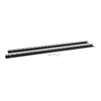Kendall Howard 22U LINIER Wall Mount Vertical Rail Kit - Cage Nut