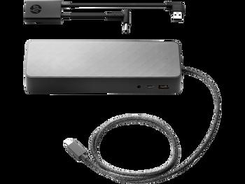HP Docking Station - for Notebook/Tablet PC - 90W - USB Type C - 5x USB Ports - 3x USB 2.0 - 1x USB 3.0