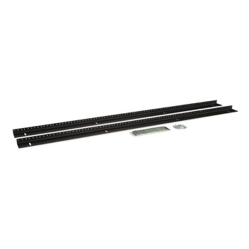 Kendall Howard 27U LINIER Server Cabinet Vertical Rail Kit - 10-32 Tapped